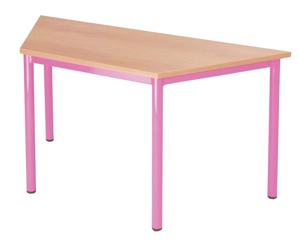 Table trapèzoïdale 120/60/60cm