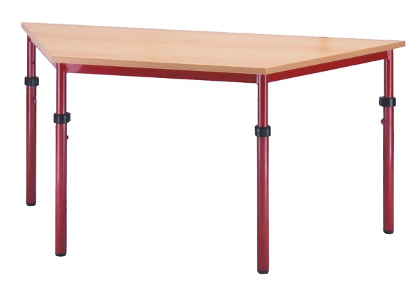 Trapezium tafel 120/60/60cm