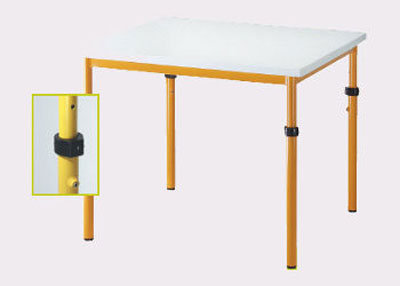 Vierkant tafel 60x60cm