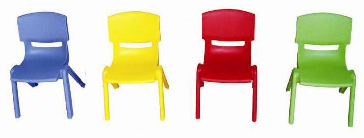 Chaise Maternelle H 34 cm