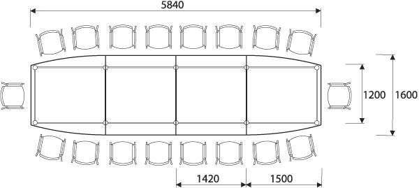 Salle de conférence 18 places