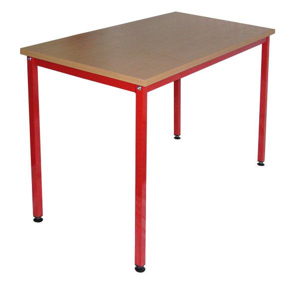 Universele tafel 120 x 80 cm, te monteren