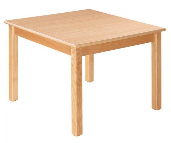 Vierkante tafel 80 x 80 cm