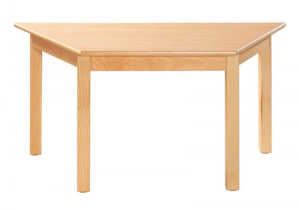 Table trapèzoïdale 120 x 60 cm