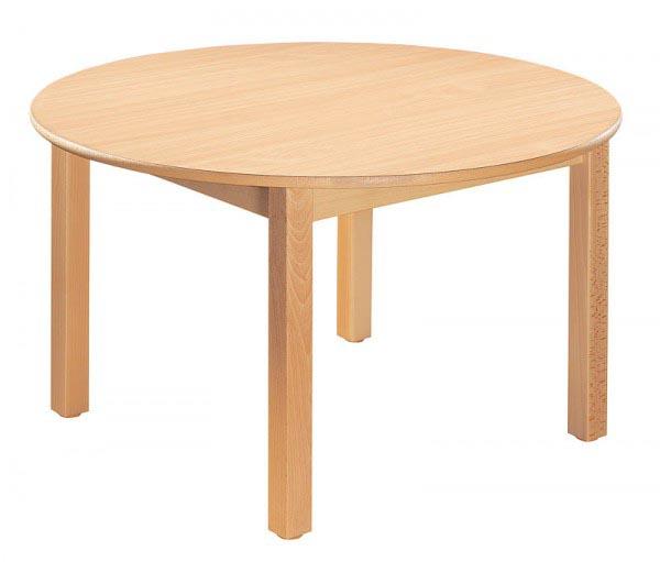 Table ronde. Diamètre 100 cm