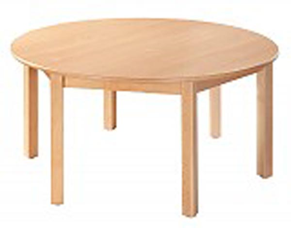 Table ronde. Diamètre 120 cm